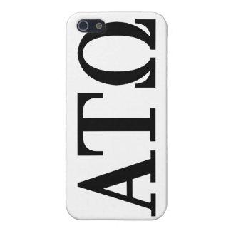 Alpha Tau Omega Letters iPhone 5 Case