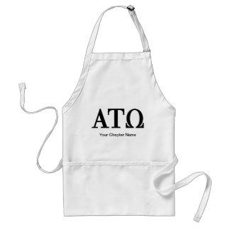 Alpha Tau Omega Letters Standard Apron