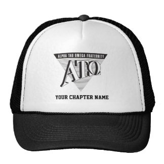 Alpha Tau Omega Name and Letters Cap