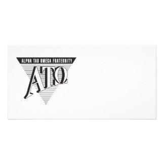 Alpha Tau Omega Name and Letters Card