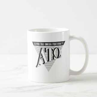 Alpha Tau Omega Name and Letters Coffee Mug