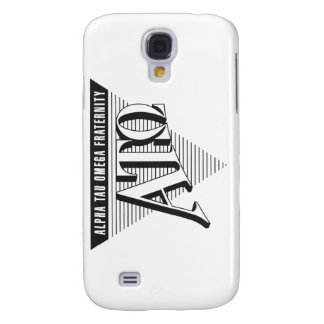 Alpha Tau Omega Name and Letters Galaxy S4 Case