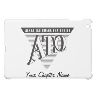 Alpha Tau Omega Name and Letters iPad Mini Covers