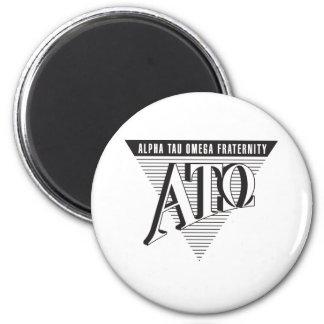 Alpha Tau Omega Name and Letters Magnet