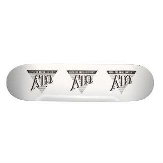 Alpha Tau Omega Name and Letters Skateboard