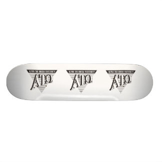 Alpha Tau Omega Name and Letters Skateboard Deck