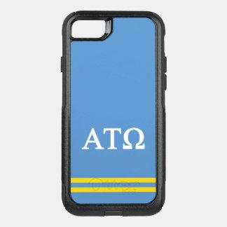 Alpha Tau Omega | Sport Stripe OtterBox Commuter iPhone 8/7 Case