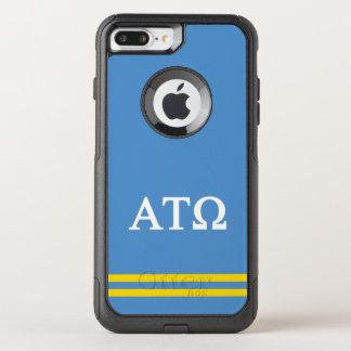 Alpha Tau Omega | Sport Stripe OtterBox Commuter iPhone 8 Plus/7 Plus Case