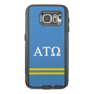 Alpha Tau Omega | Sport Stripe OtterBox Samsung Galaxy S6 Case