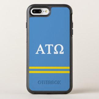 Alpha Tau Omega | Sport Stripe OtterBox Symmetry iPhone 8 Plus/7 Plus Case