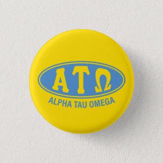 Alpha Tau Omega | Vintage 3 Cm Round Badge
