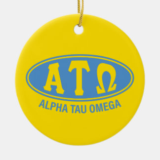 Alpha Tau Omega | Vintage Christmas Ornament