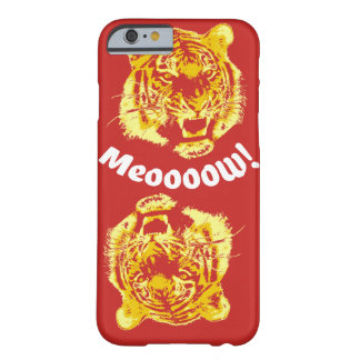 Alpha Tiger Meow Barely There iPhone 6 Case