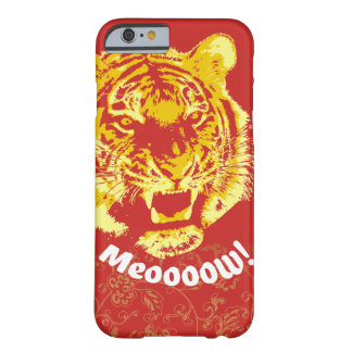 Alpha Tiger Meow - Closeup Barely There iPhone 6 Case