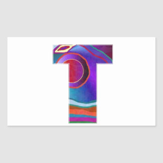 ALPHA TTT Alphabet Identity ID Initial Name Refer Rectangle Stickers