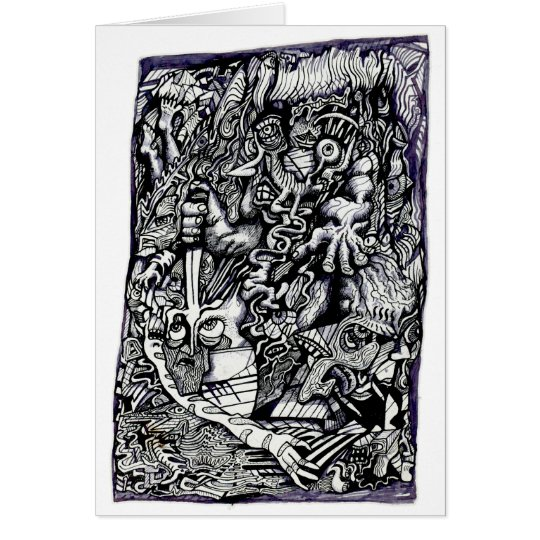 Alpha Warrior, by Brian Benson Card