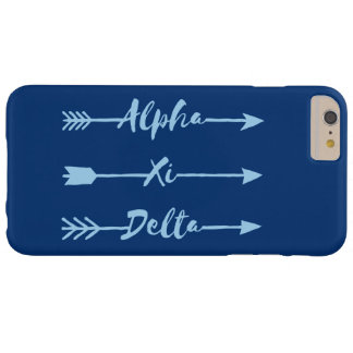 Alpha Xi Delta Arrow Barely There iPhone 6 Plus Case