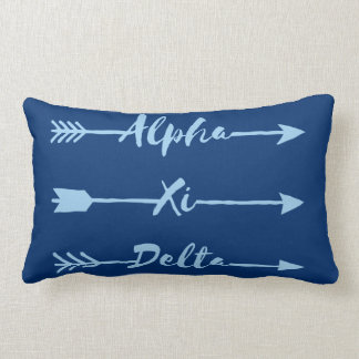 Alpha Xi Delta Arrow Lumbar Cushion