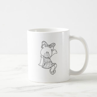 Alpha Xi Delta Bear Coffee Mug