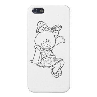 Alpha Xi Delta Bear iPhone 5/5S Cover