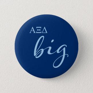 Alpha Xi Delta Big Script 6 Cm Round Badge
