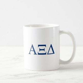 Alpha Xi Delta Big Script Coffee Mug