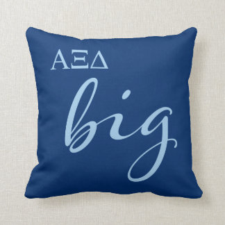 Alpha Xi Delta Big Script Cushion