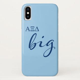 Alpha Xi Delta Big Script iPhone X Case