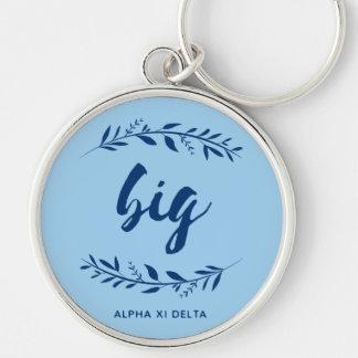 Alpha Xi Delta Big Wreath Key Ring