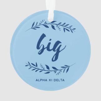 Alpha Xi Delta Big Wreath Ornament