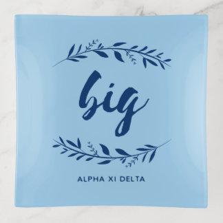 Alpha Xi Delta Big Wreath Trinket Trays