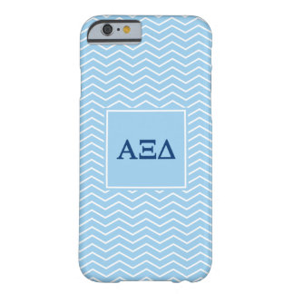Alpha Xi Delta | Chevron Pattern Barely There iPhone 6 Case