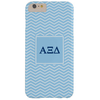 Alpha Xi Delta | Chevron Pattern Barely There iPhone 6 Plus Case