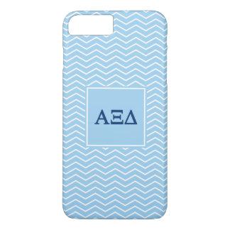 Alpha Xi Delta | Chevron Pattern iPhone 8 Plus/7 Plus Case