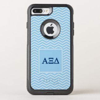 Alpha Xi Delta | Chevron Pattern OtterBox Commuter iPhone 8 Plus/7 Plus Case