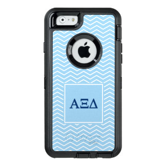 Alpha Xi Delta | Chevron Pattern OtterBox Defender iPhone Case