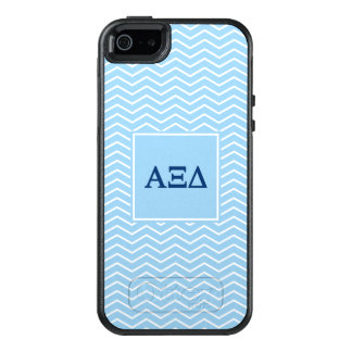 Alpha Xi Delta | Chevron Pattern OtterBox iPhone 5/5s/SE Case