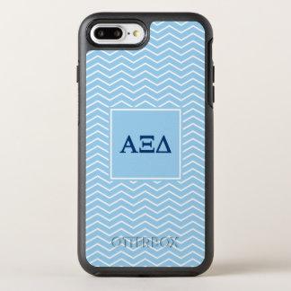 Alpha Xi Delta | Chevron Pattern OtterBox Symmetry iPhone 7 Plus Case