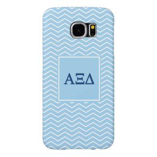 Alpha Xi Delta | Chevron Pattern Samsung Galaxy S6 Cases