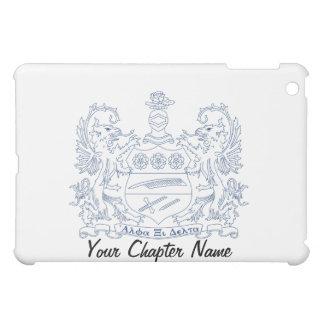 Alpha Xi Delta Crest Blue iPad Mini Cases