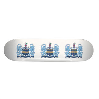 Alpha Xi Delta Crest Color 21.3 Cm Mini Skateboard Deck