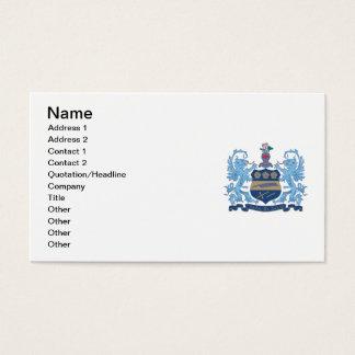 Alpha Xi Delta Crest Color Business Card