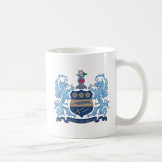 Alpha Xi Delta Crest Color Coffee Mug