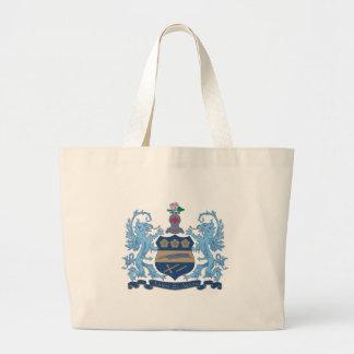 Alpha Xi Delta Crest Color Large Tote Bag