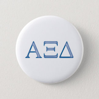 Alpha Xi Delta Letters 6 Cm Round Badge