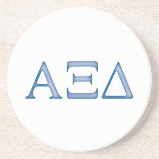 Alpha Xi Delta Letters Coaster