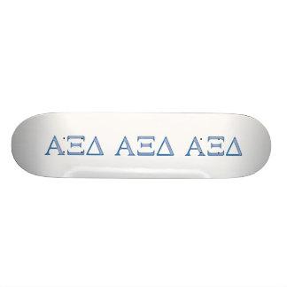 Alpha Xi Delta Letters Skateboard Deck