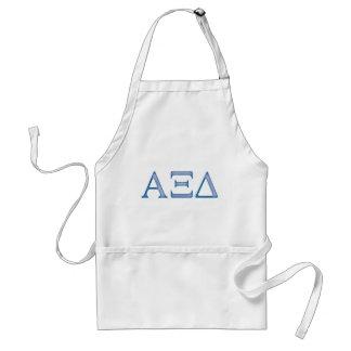Alpha Xi Delta Letters Standard Apron