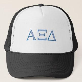 Alpha Xi Delta Letters Trucker Hat
