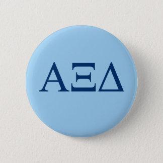 Alpha Xi Delta Lil Big Logo 6 Cm Round Badge